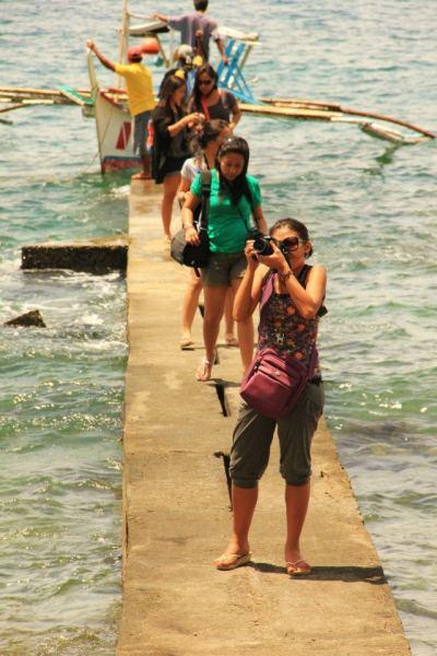 arrival at Portulano Beach Resort