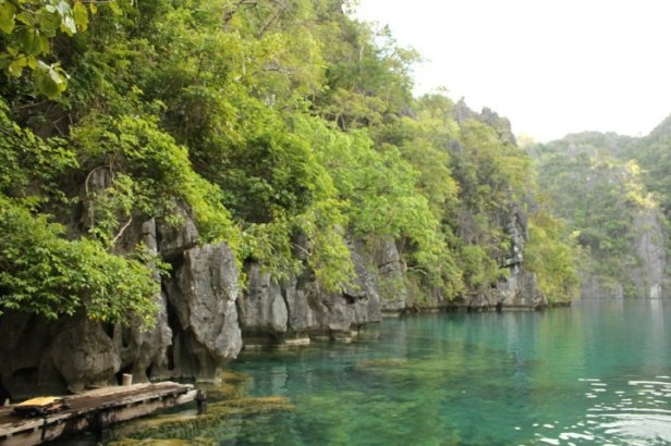 The other side of Kayangan Lake