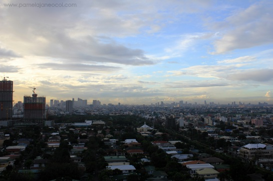 Location: View from Citadel Inn Makati - 18th Floor.
